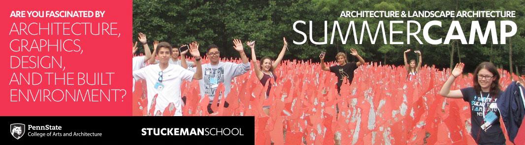 Penn State Architecture / Landscape Architecture Summer Camp